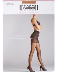 Wolford Synergy Push-up 20 Tights - White