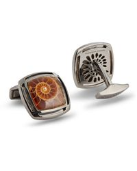 Tateossian Sterling Silver Cufflinks - Metallic
