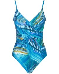 Gottex - Wrap Swimsuit - Lyst
