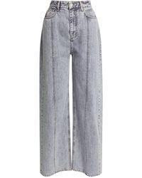 ROKH Wide-leg Jeans - Blue