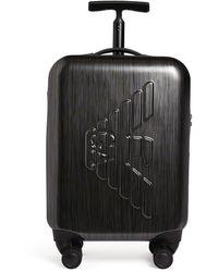 Emporio Armani Logo Suitcase - Grey