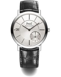 Piaget White Gold Altiplano Watch 40mm - Metallic