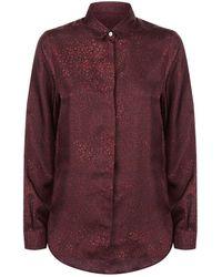 James Purdey & Sons - Silk Scroll Shirt - Lyst
