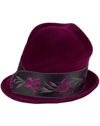Philip Treacy - Floral Band Side Sweep Hat - Lyst