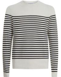 Sandro | Textured Striped Sweater | Lyst