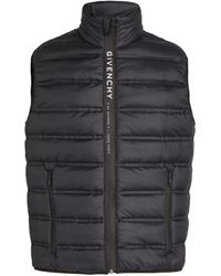 Givenchy Quilted Gilet - Black