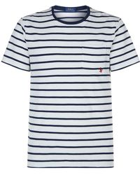 Men In Lyst Shirt Rugby Originals Nautical For Adidas Polo Blue 1qwz7vTqx