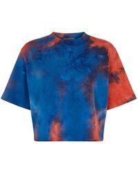 Cotton Citizen - Tokyo Tie Dye Crop T-shirt - Lyst