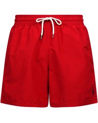 Ralph Lauren Swim Shorts - Red