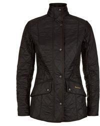 Barbour Cavalry Quilted Jacket - Black