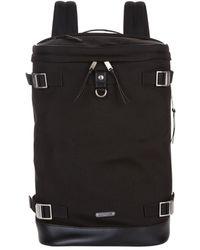 Saint Laurent Canvas Rivington Backpack - Black