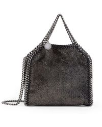 Stella McCartney Tiny Falabella Shiny Tote Bag - Metallic