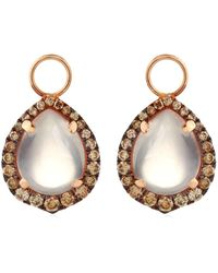 Annoushka - Rose Quartz Earring Drops - Lyst