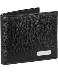 Chopard Small Leather Il Classico Bifold Wallet - Black
