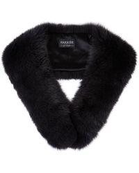 Harrods Fox Fur Collar - Gray