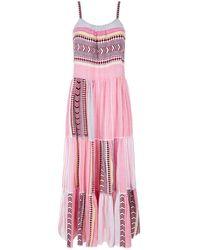 lemlem - Luchia Tiered Maxi Dress - Lyst