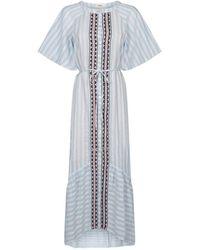 lemlem - Nefasi Maxi Shirt Dress - Lyst