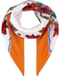 Sandro - Floral Silk Scarf - Lyst