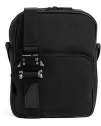 1017 ALYX 9SM Buckle-embellished Woven Camera Bag - Black