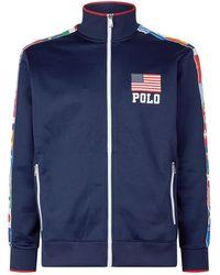Polo Ralph Lauren - Flag Zip-up Sweatshirt - Lyst