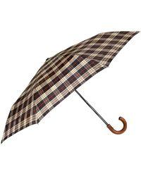 Burberry - Check Umbrella - Lyst