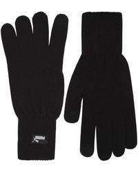 PUMA Knitted Touch Fingertips Gloves - Black