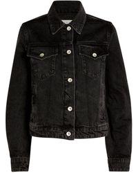 Rag & Bone Denim Nico Jacket - Black