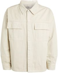 A_COLD_WALL* * Cotton Overshirt - White