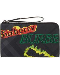 Burberry - Travel Wallet - Lyst