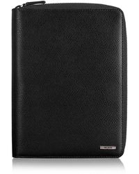Tumi Leather Travel Wallet - Black