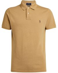 Polo Ralph Lauren Cotton Polo Shirt - Natural