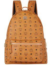 MCM Medium Stark Backpack - Brown