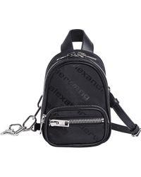 Alexander Wang - Mini Attica Logo Backpack - Lyst