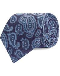 Eton of Sweden - Paisley Pattern Tie - Lyst