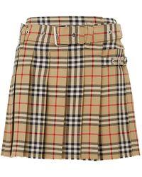 Girandola School Plaid Skirt