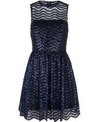 Alice + Olivia - Daisy Embellished Dress - Lyst