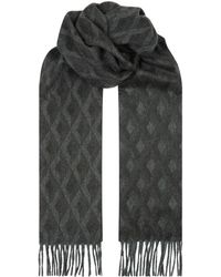 Dunhill - Cashmere Engine Turn Scarf - Lyst