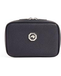 Stefano Ricci Leather Clutch Bag - Blue