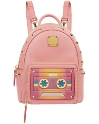 MCM - X-mini Cassette Stark Backpack - Lyst