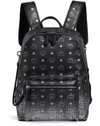 MCM Medium Visetos Duke Backpack - Metallic