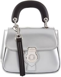 Burberry - Mini Metallic Dk88 Top Handle Bag - Lyst