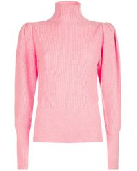 FRAME - Wide-sleeve Wool Jumper - Lyst