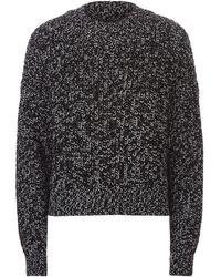 AllSaints - Malu Marl Sweater - Lyst