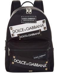 Dolce & Gabbana - Logo Backpack - Lyst