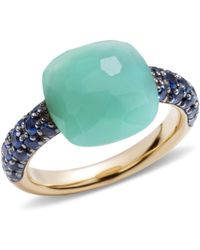 Pomellato - Chrysoprase Rose Gold Capri Ring - Lyst