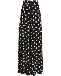 Paper London Kelly Polka-dot Pants - Black
