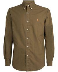 Polo Ralph Lauren Custom-fit Oxford Shirt - Green