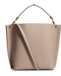 Valentino Leather Escape Hobo Bag - Natural
