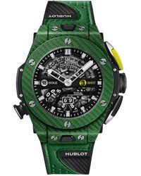 Hublot - Carbon Big Bang Unico Golf Watch 45mm - Lyst