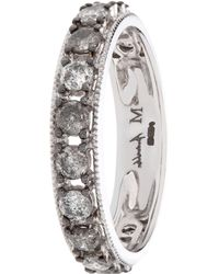 Annoushka Dusty Diamonds Rose Quartz Ring in Pink - Lyst 71b78dc9b4b